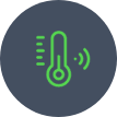 Medidores de temperatura conectados